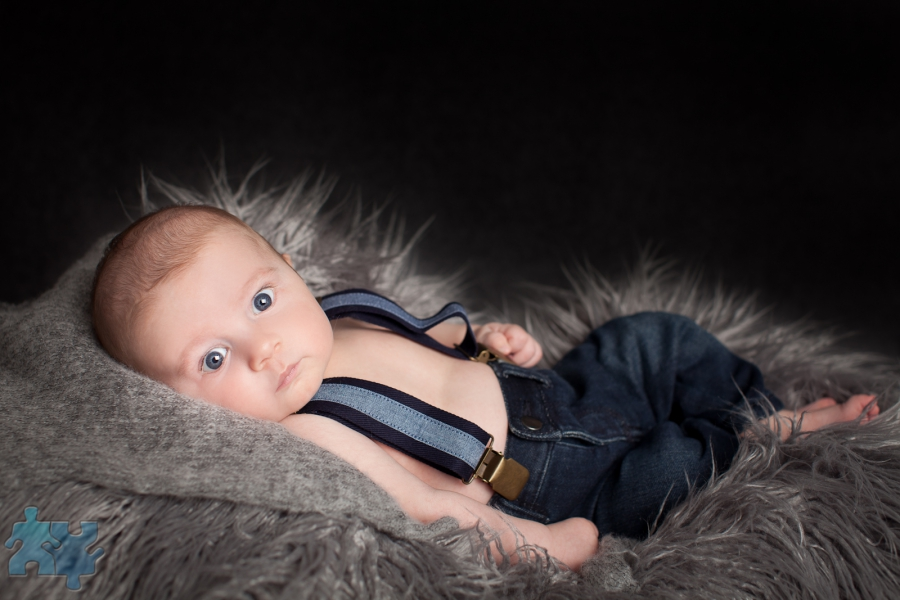 Mississauga newborn and baby photography studio portraits of baby boy 8 weeks old