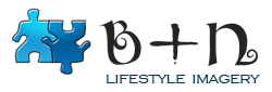 B+N lifestyle imagery logo