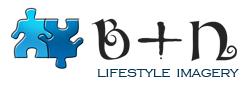 B+N lifestyle imagery logo